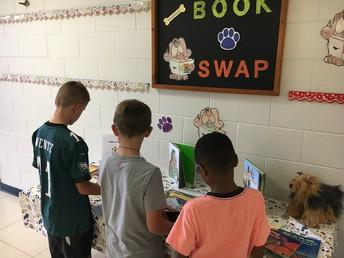 Book Swap Tables