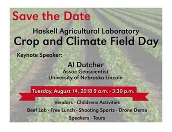 Haskell Ag Lab - Crop & Climate Field Day