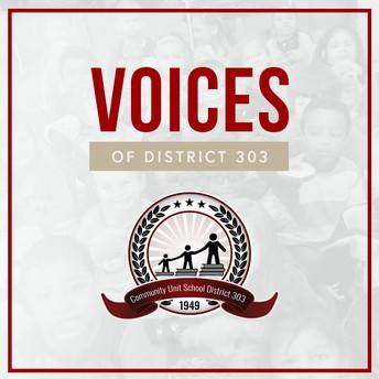 Podcast -  Voices of D303 (Las voces del D303)