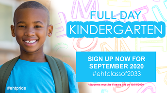 FULL DAY KINDERGARTEN: STILL ACCEPTING REGISTRATIONS!