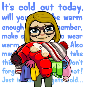 Winter Weather and Winter Clothes