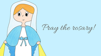 OCTOBER is the Month of the ROSARY!