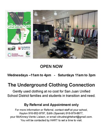 The Underground Clothing Connection