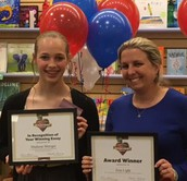 Congrats to Madison Metzger & Mrs. Light!