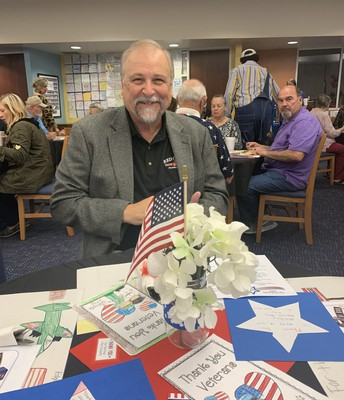 Retired SHHS Teacher, Budd Dunn, Attends Ceremony