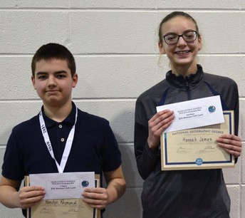 Congrats National Geographic Bee Winners!