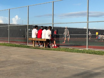 Fall Tennis began this week vs Brazoswood!  They take on Elkins this week!  Come support!