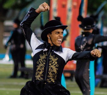 Alief ISD graduate was chosen out of hundreds of applicants to be a member of the Spirit of Atlanta Drum and Bugle Corps Color Guard.
