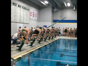 West and Liberty Swimming