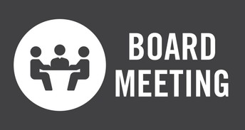 Board Meeting Date Change