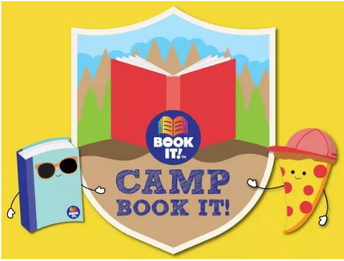 Camp Book It! from Pizza Hut!