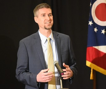 DR. RYBA TRAVELS TO COLUMBUS FOR SUPPORT OF STATE REPORT CARD REFORM