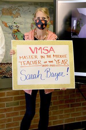 VMSA Teacher of the Year