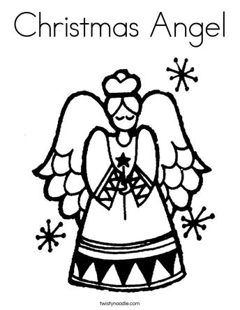 Christmas Angel Application