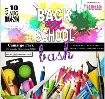 Back 2 School Bash--A New Life For a New Generation