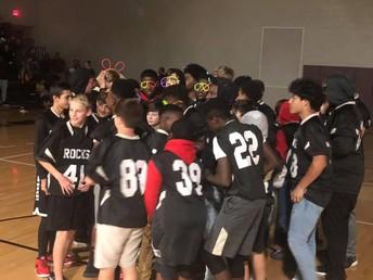 Our boys had a great football season.