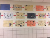 Cool Timeline in 5th and 6th Hallway