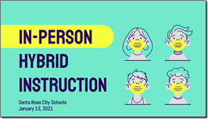 Dr. Kitamura's  report on preparation for in-person instruction