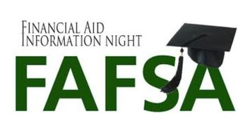 FAFSA Night for Seniors sponsored by Student Services