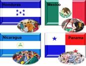HONDURAS, MEXICO, NICARAGUA, PANAMA