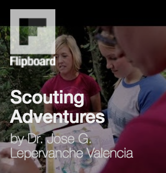 Scouting Adventures via Flipboard