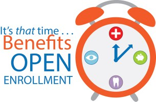 OPEN ENROLLMENT - IMPORTANT INFORMATION FROM HR: