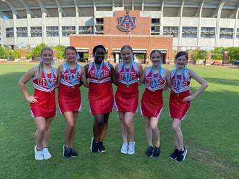 dance team at Auburn