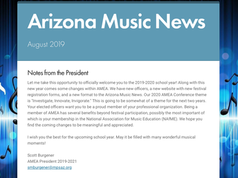 NEW FORMAT FOR ARIZONA MUSIC NEWS