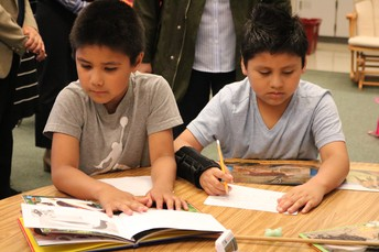 Responsive literacy instruction in District 15