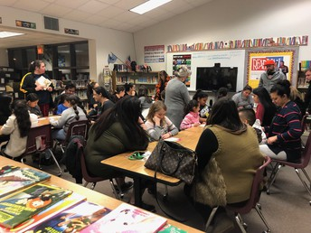 Madill Family Literacy Night