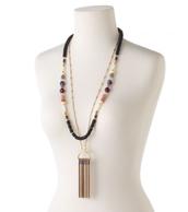 Genevieve Tassel Necklace