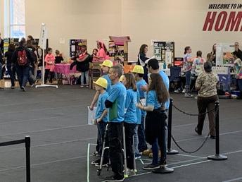 Robotics in tournament action!