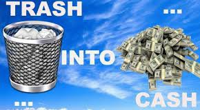 How do the Trash into Cash programs work?