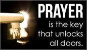 Prayer service every Wednesday