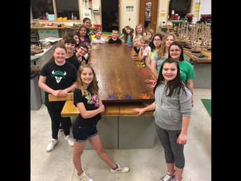 K-Kids Donate Table to Parkview