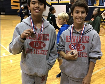 Hernandez Cross Country Students Place in District Meet