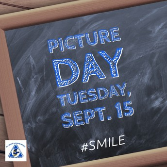 Picture Day Tuesday, Sept. 15