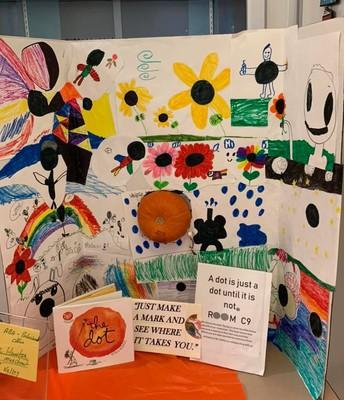 Literary Pumpkin Contest The Dot!
