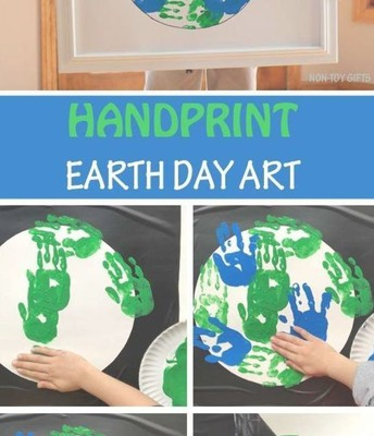 Make this Painting Together While You Pray for the Earth!