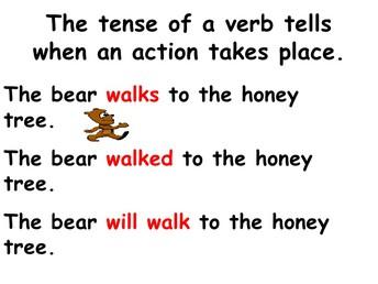 Verbs Endings
