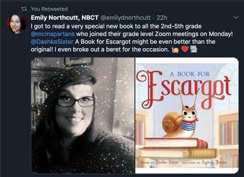 Madame Northcutt Reads Escargot!