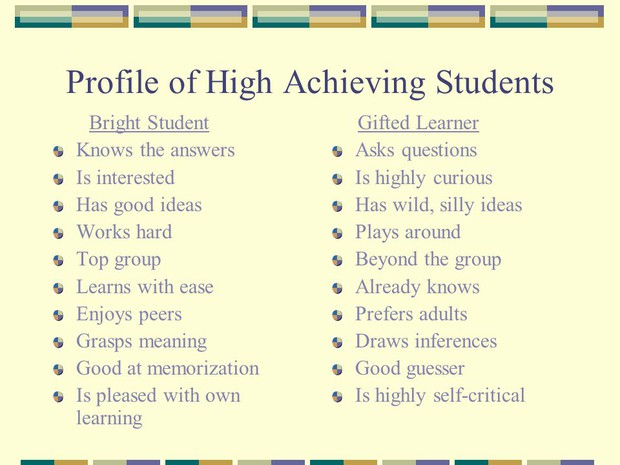 Differentiation for High Achievers