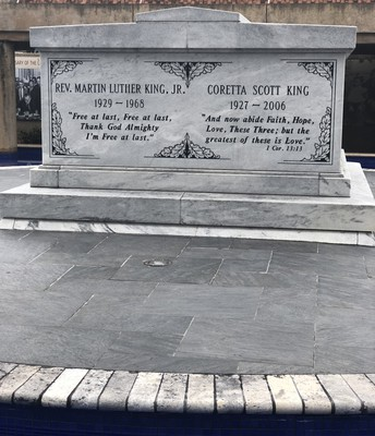 Memorial for Two Great Americans