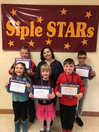SIPLE STARS OF THE MONTH