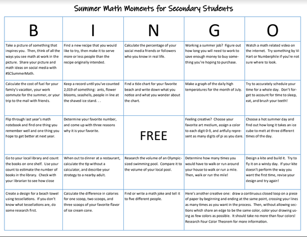 Prevent Math Summer Loss | Smore Newsletters for Education