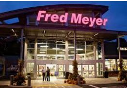 For Fred Meyer shoppers, we are now enrolled in their rewards program!