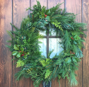 WREATH PICK-UP TODAY
