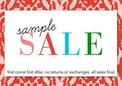 Sample Sale!