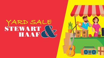 ***NEW: POST-WIDE YARD SALE AT STEWART AND HUNTER ON 14 APRIL