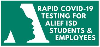 Alief ISD Free Rapid Testing for Students // Examenes Gratis para Alumnos de Alief ISD